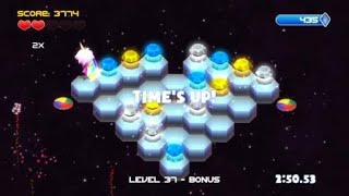 Q*bert: Rebooted Level 37 record