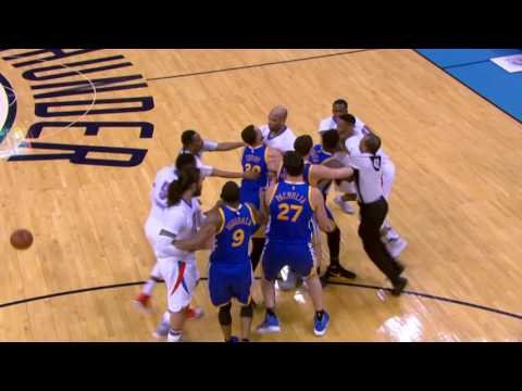 Golden State Warriors at Oklahoma City Thunder - March 20, 2017