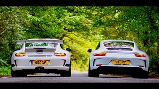 HEAD TO HEAD - PORSCHE GT3 TOURING v GT3 RS 4.0