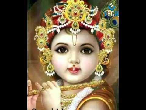 Gud Morning Wallpaper With Cute Baby Lord Krishna Saying Good Morning Youtube