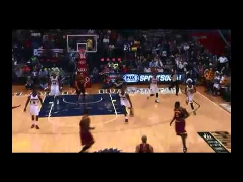 NBA CIRCLE - Cleveland Cavaliers Vs Atlanta Hawks Highlights 6 Dec. 2013 www.nbacircle.com