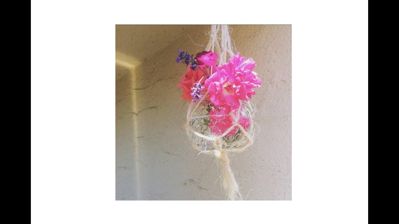 DIY: Sommerparty / Hochzeits Deko   Lampions   Hängevase   Kerze   Vase