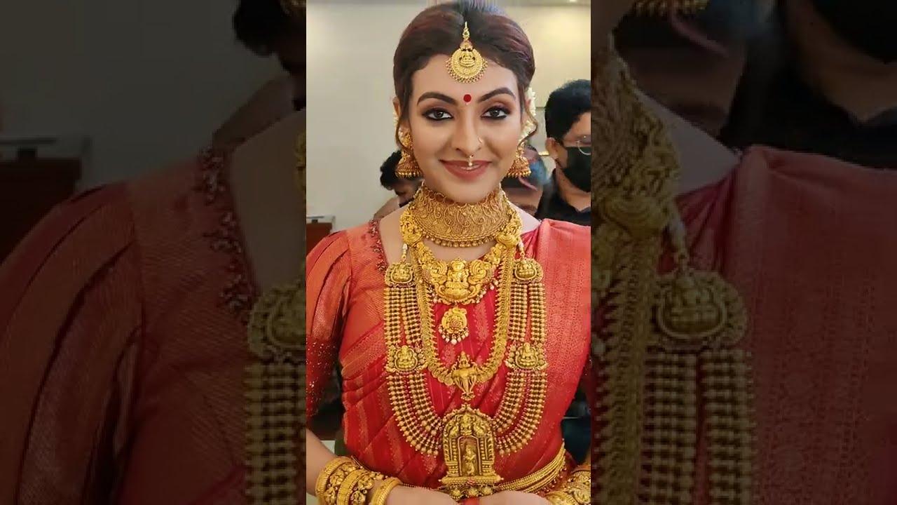 Durga Krishna wedding makeup I Malayalam actress bridal makeup I Vikas vks