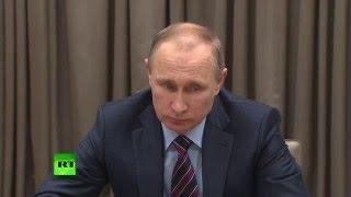Владимир Путин премьеру Баварии: На нас с Вами огромная ответственность