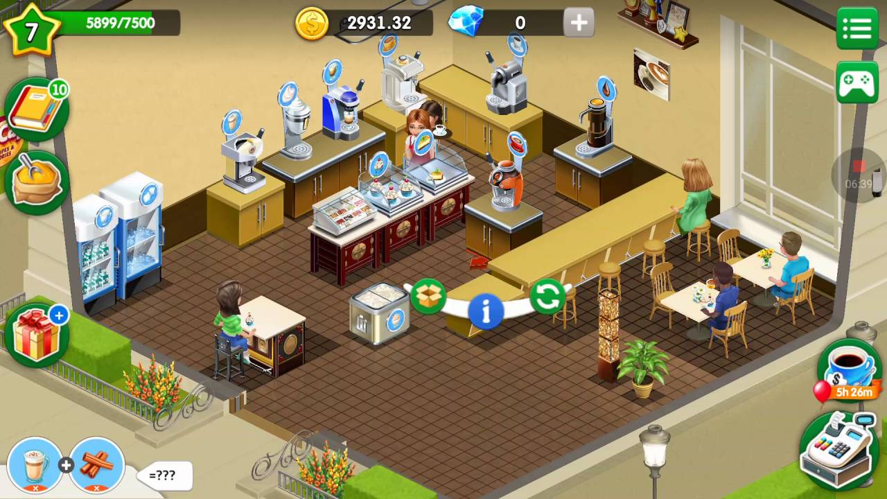my cafe recipes stories 8 level 7 up to 8 unlock tarlet youtube. Black Bedroom Furniture Sets. Home Design Ideas