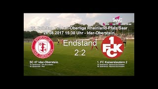 Oberliga RLP/Saar: SC 07 Idar-Oberstein gegen 1. FC Kaiserslautern 2