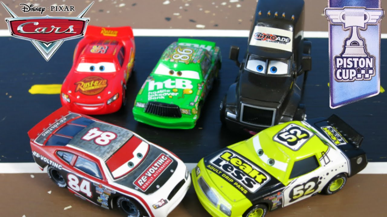 Pictures of Piston Cup Racers - #rock-cafe