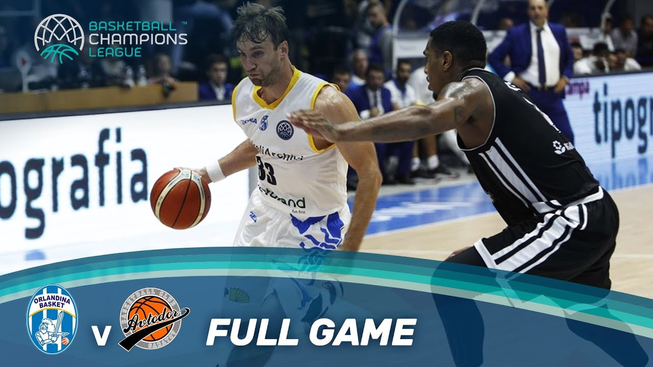 SikeliArchivi Capo d'Orlando v Avtodor Saratov - Full Game - Basketball Champions League 17