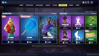 *NEW*Lil Whip Skin & Sprinkles Wrap! Fortnite Item Shop February 17, 2019