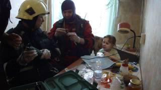 Питерские спасатели и чудный ребёнок.