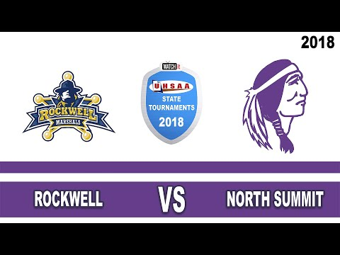 2A Volleyball: Rockwell vs North Summit High School UHSAA 2018 Utah State Tournament Round 1