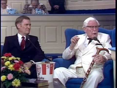kfc founder Few know the true story behind kfc founder's rise to finger-lickin' fame and hearing how colonel sanders accepted jesus christ is the best part.