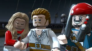 lego pirates of the caribbean walkthrough part 5 isla de muerta curse of the black pearl finale