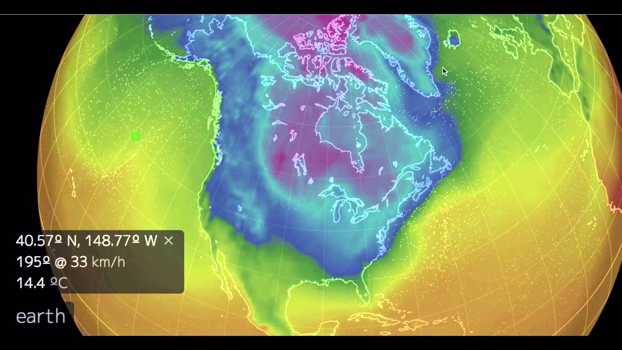 Earth Wind Map Youtube