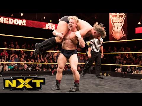 Tyler Bate vs. Trent Seven  WWE United Kingdom Championship Match: WWE NXT, Feb. 15, 2017