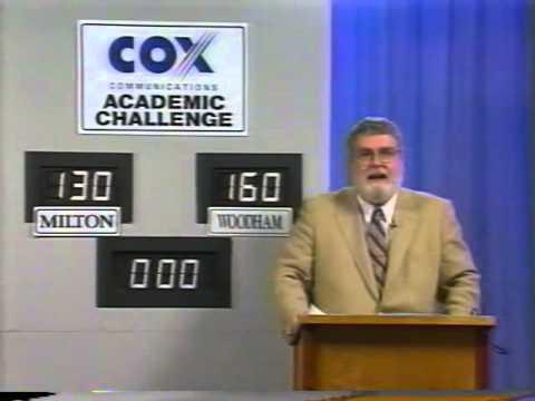 2000 Cox Communications Academic Challenge (Pensacola, FL) - Woodham v. Milton