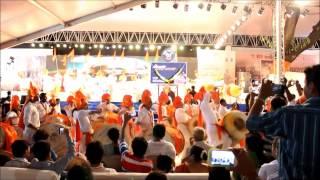 Girgaon Dhwajapathak Performance-Ajay Atul Live on 15 August 2014