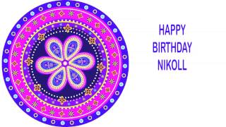 Nikoll   Indian Designs - Happy Birthday