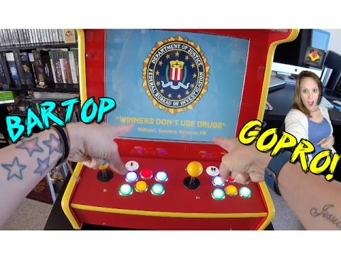 Retro Gaming Arcade Gameplay - GoPro Edition - TheGebs24 - 동영상