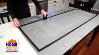 How to Replace a Screen by Charlotte Home Inspector
