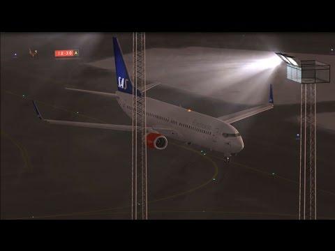 FSX PMDG SAS 737-800 Copenhagen Kastrup EKCH to Athens International Airport Eleftherios Venizelos L