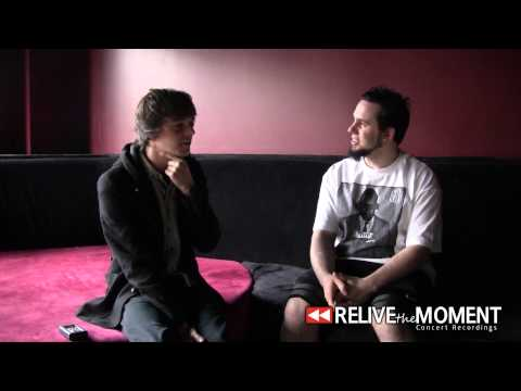 2013.04.27 Interview with Bert Poncet from Chunk! No Captain Chunk (Live in Joliet, IL)