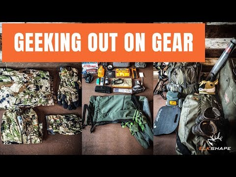 GEEKing OUT On Hunting GEAR