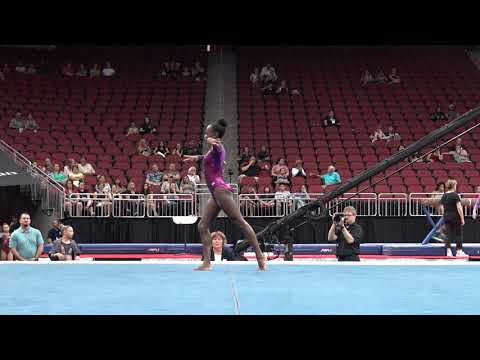 Amber Lowe – Floor Exercise – 2019 GK U.S. Classic – Junior Competition