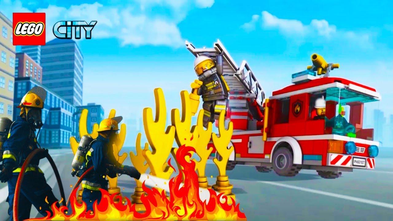 Permainan Anak Laki Mobil Mobilan Lego Kota Pemadam ...
