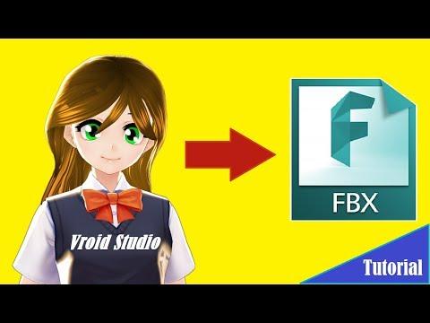 Vroid Studio→ Export to FBX English Tutorial - YouTube