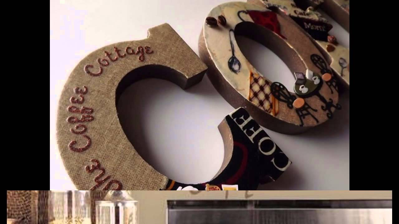 Coffee Themed Kitchen Decor Ideas YouTube
