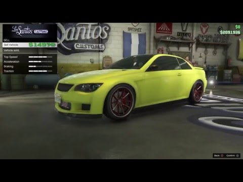 how to change spawn car in gta 5