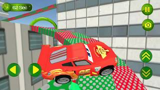 Lightning Mcqueen & Superheroes Speed Car Racing Hill Climb Gameplay