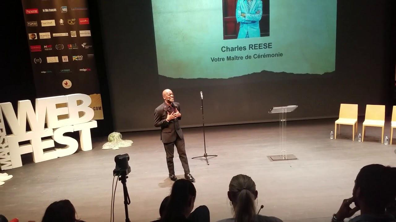 Charles Reese Opening | Spoken Word @ Marseille WebFest 2018 ( France)