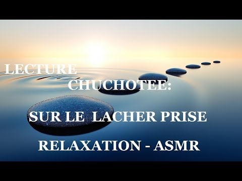 relaxation lacher prise