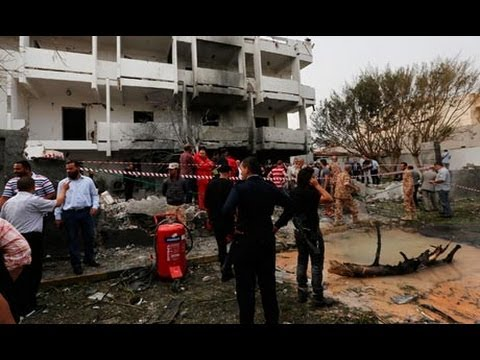 French embassy in Libya devastated by car bomb