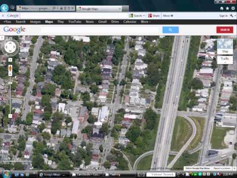 Interstate 65 in Louisville on Google maps (3D)