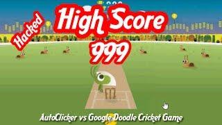 Cricket Game Google Doodle Yt