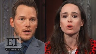 Ellen Page Calls Out Chris Pratt Over Hillsong