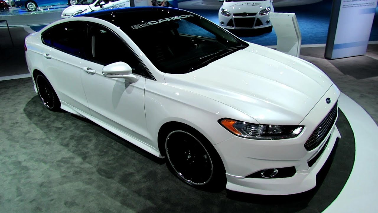 2013 Ford Fusion Se Euro Series By 3dcarbon Exterior And