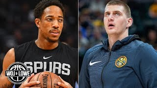 I can't wait to see how the Spurs vs. Nuggets series plays out – Zach Lowe | Woj & Lowe