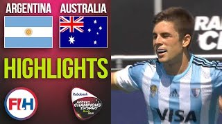 Argentina v Australia | 2018 Men's Hockey Champions Trophy | HIGHLIGHTS