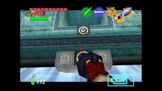 Zelda Ocarina Of Time - Chapitre 48 - Le Temple de l'Eau Partie 3