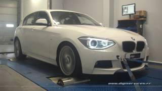 BMW F20 118D 143cv AUTO  Reprogrammation Moteur @183cv Digiservices Paris 77 Dyno