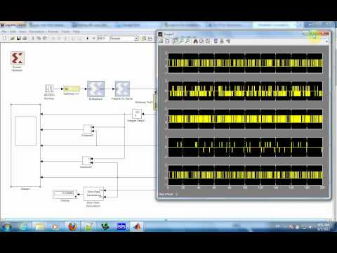 Simulation of Viterbi Decoder IEEE 802.11a using Simulink Matlab