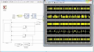 Simulation of Viterbi Decoder IEEE 802.11a using Simulink Matlab