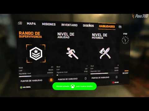Dying Light / Truco Nivel Maximo de Supervivencia !!