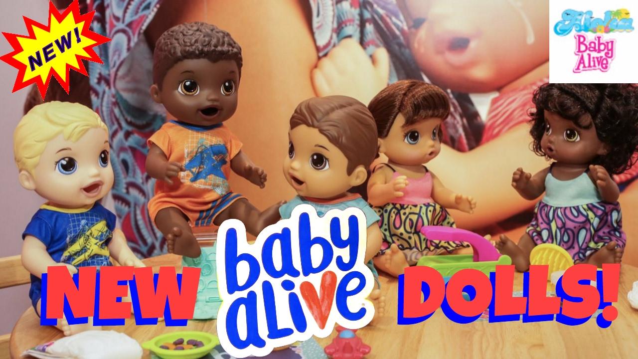 Fall 2017 Baby Alive Dolls 👦🏼 Snackin Luke 🍝 Snackin