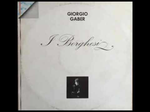 L'amico [I borghesi 1971] - Giorgio Gaber mp3