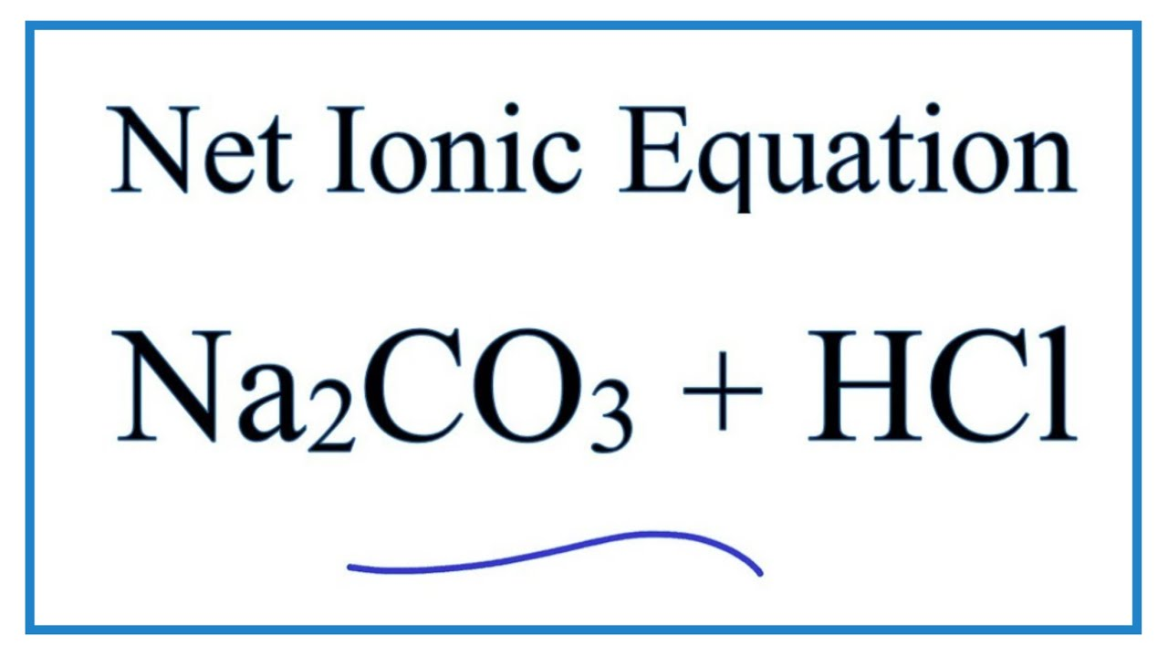 Chemical Equation For Sodium Hydrogen Carbonate And ...